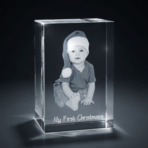 3DCrystal Rectangle Vertical Holidays