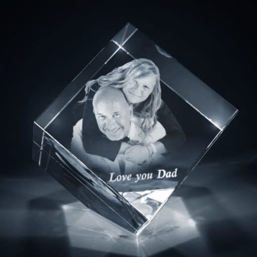 3DCrystal Diamond Father's Day