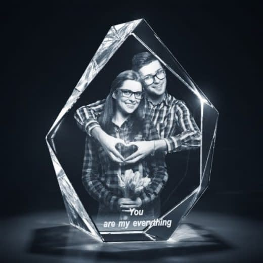 3DCrystal Prestige Anniversary Gift