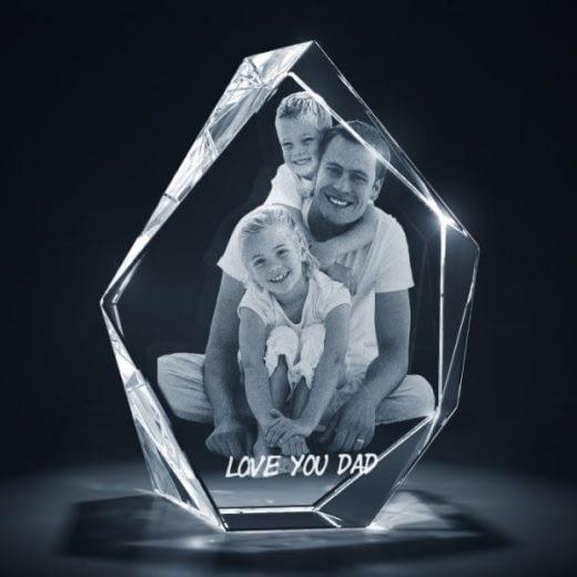 3DCrystal Prestige Father's Day