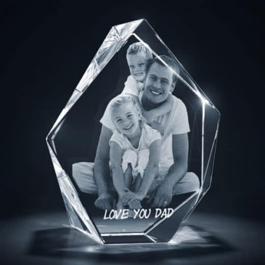 3DCrystal Prestige Father's Day