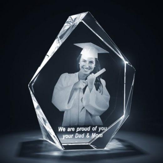 3DCrystal Prestige Graduation Gift