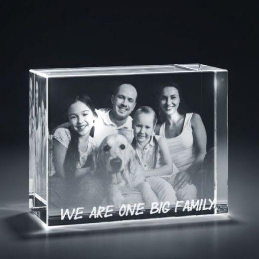3DCrystal rectangle horizontal family