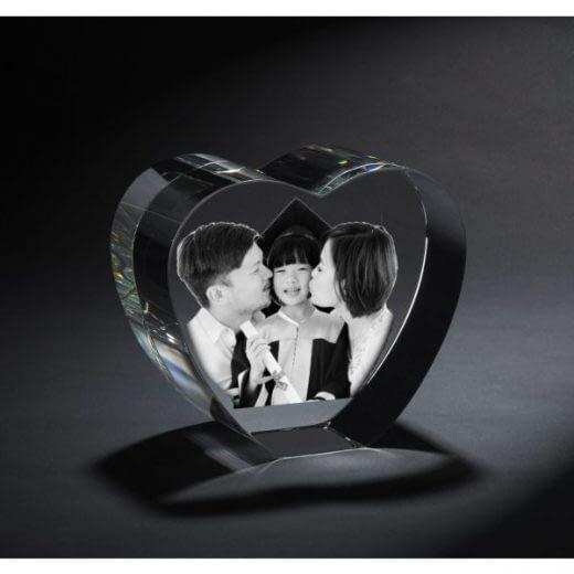 3DCrystal Heart Graduation Gift