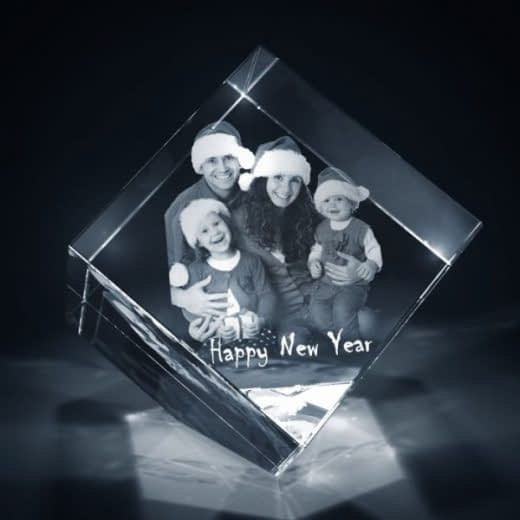 3DCrystal Diamond New year