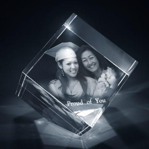 3DCrystal Diamond Graduation Gift