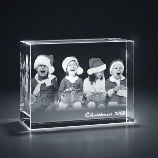 3DCrystal Rectangle Horizontal Holidays