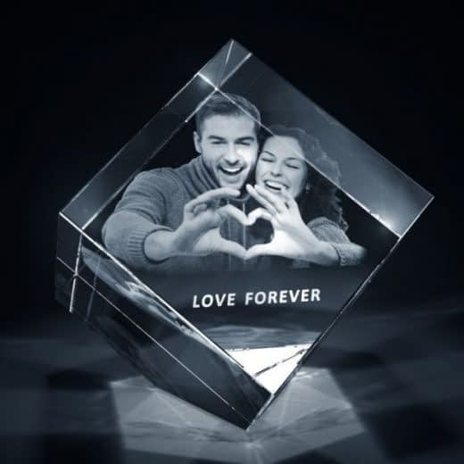 3DCrystal Diamond Valentines Day